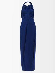 Diane Von Furstenberg - Striped Patch Pocket Shirtdress - Womens - Red Stripe