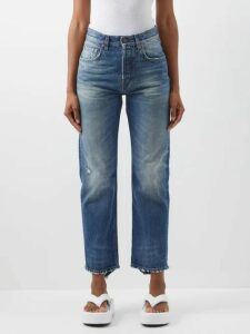 Dundas - Printed Silk Georgette Midi Dress - Womens - Black Pink