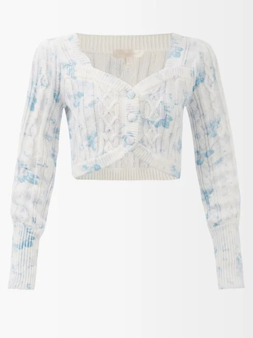 Calvin Klein 205w39nyc - X Pendleton Fringed Plaid Wool Coat - Womens - Black Multi