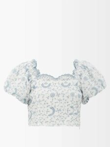Calvin Klein 205w39nyc - X Pendleton Fringed Plaid Wool Coat - Womens - Black Multi
