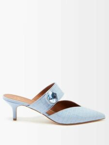 Emilio De La Morena - Jade Silk And Lace Gown - Womens - Red
