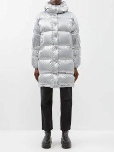 Jw Anderson - Paisley Print Silk Midi Dress - Womens - Orange Multi