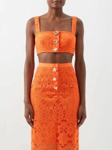 Holiday Boileau - Checked Wool Blazer - Womens - Brown Multi