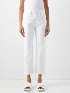 Masscob - Blaise Floral Print Silk Midi Dress - Womens - Pink Multi