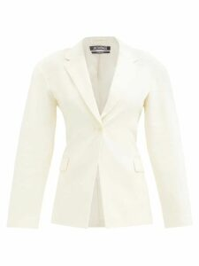 Norma Kamali - Point Collar Shirtdress - Womens - Red