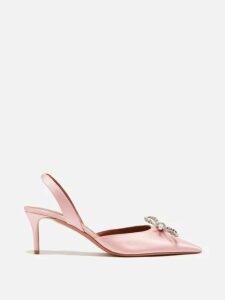 Fendi - Silk Chiffon Embroidered Blouse - Womens - Black