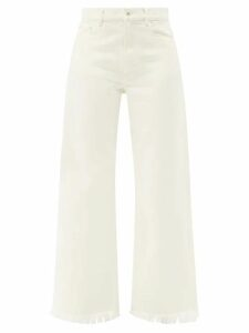 Stella Mccartney - Double Breasted Cotton Corduroy Blazer - Womens - Blue