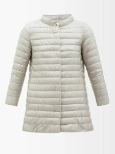 Mary Katrantzou - Lily Polka Dot Detail Sleeveless Shirt - Womens - Red Navy