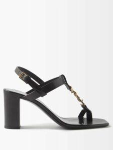 Dundas - Black Silk Georgette Midi Dress - Womens - Black Pink