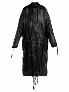 Haider Ackermann - High Shine Shell Coat - Womens - Black