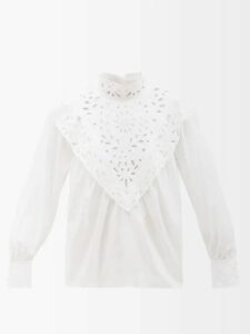 Alexachung - Heart Appliqué Pvc Chesterfield Coat - Womens - Cream