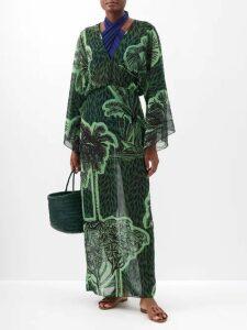 Preen Line - Rylee Floral Print Dress - Womens - Black Print