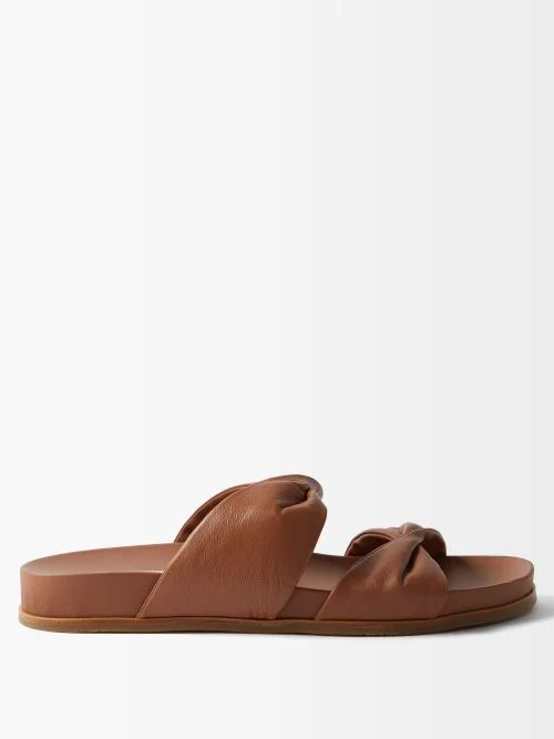 Raey - Backless Seam Detail Halterneck Dress - Womens - Black