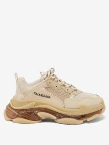 Maria Lucia Hohan - Layla Silk Blend Slip Dress - Womens - Navy