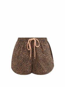 Isa Arfen - Victoria Square Boat Neck Silk Taffeta Top - Womens - Black
