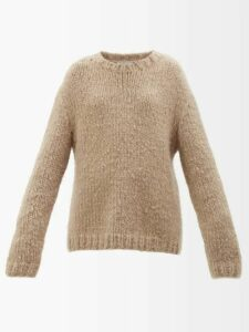 Isabel Marant - Rimba Pleated Hem Linen Blend Dress - Womens - Khaki
