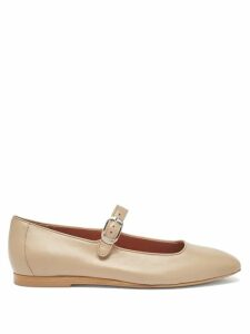 Vika Gazinskaya - Lemon Jacquard Wrap Dress - Womens - Pink Print