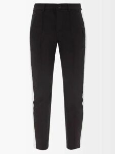 Maison Margiela - Double Breasted Organza Trench Coat - Womens - Black