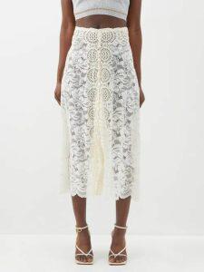 Prada - Hibiscus Appliqué Sweatshirt - Womens - Black Multi