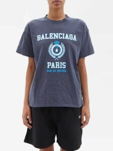Dundas - Sequin Embellished Mini Dress - Womens - Dark Grey