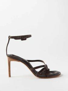 Raey - V Neck Cotton Jersey T Shirt - Womens - Black