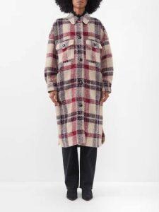 Saint Laurent - Pussy Bow Velvet Devoré Mini Dress - Womens - Burgundy