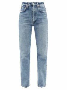 Altuzarra - Pennant Tie Dye Velvet Midi Skirt - Womens - Black Orange