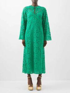 Zimmermann - Unbridled Contour Floral Print Skirt - Womens - Burgundy Print