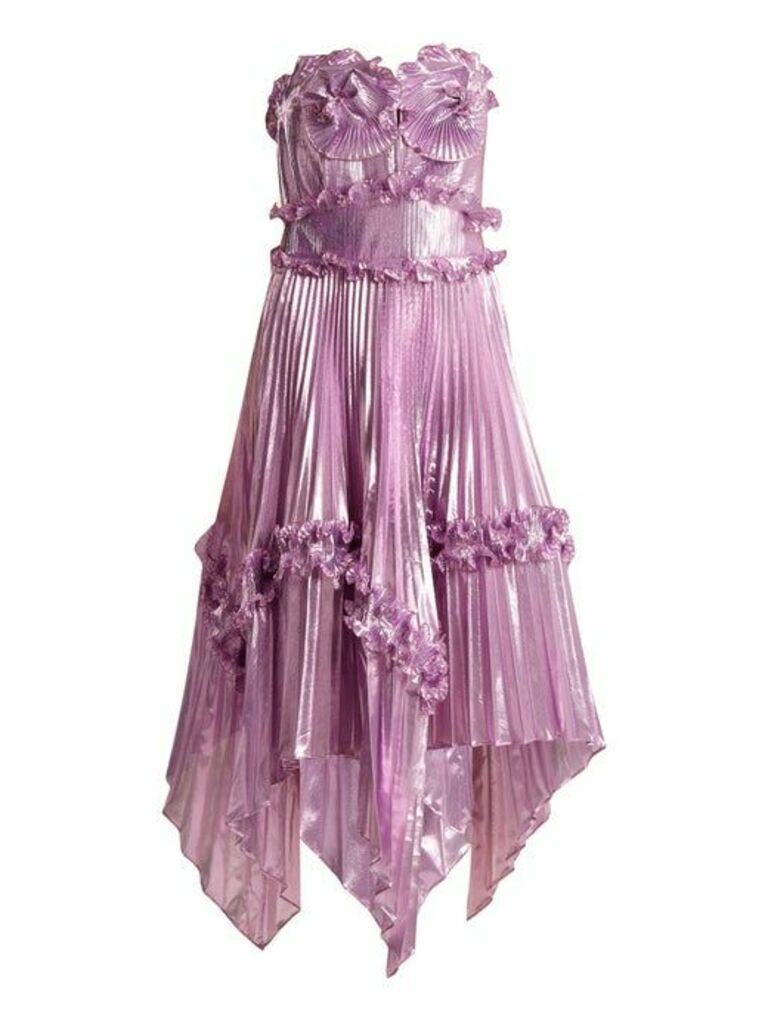 Zandra Rhodes - Archive Ii The 1977 Sunray Gown - Womens - Pink