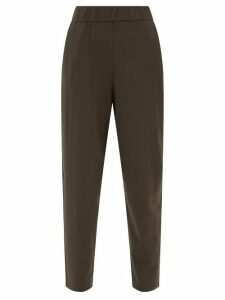 Diane Von Furstenberg - Polka Dot Print Silk Blend Top - Womens - Black White