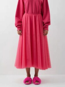 Carl Kapp - Right Wing Cotton Blend Dress - Womens - Pink Multi