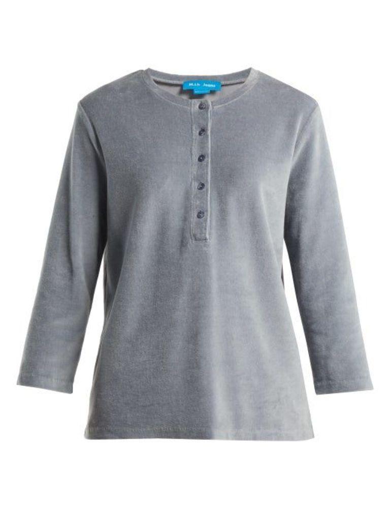 M.i.h Jeans - Ashley Cotton Blend Top - Womens - Grey