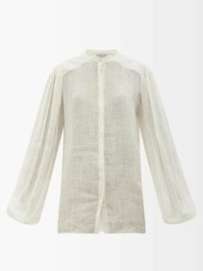 Diane Von Furstenberg - Calloway Floral Paisley Print Silk Maxi Dress - Womens - Yellow Multi