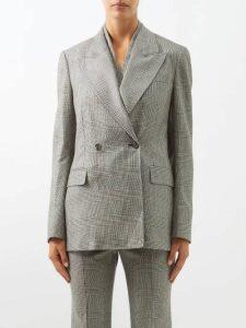 Sea - Capri Balloon Sleeve Cotton Dress - Womens - Blue