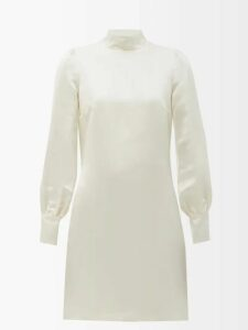 Altuzarra - Kat Wrap Front Dress - Womens - Orange
