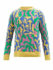 Johanna Ortiz - El Dia Que Me Quieras Floral Print Satin Dress - Womens - Red Multi