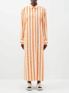 Raey - Displaced Sleeve Round Neck Wool Sweater - Womens - Black