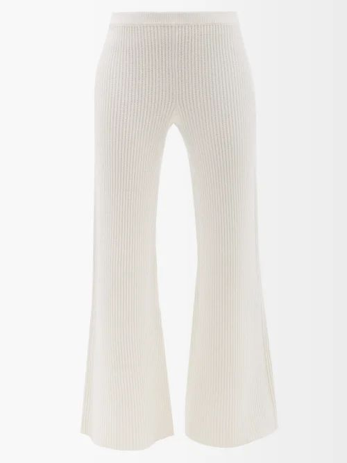 Bella Freud - 1970 Intarsia Knit Sweater - Womens - Gold