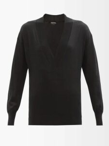 Temperley London - Wondering Lace Panel Fil Coupé Chiffon Top - Womens - White