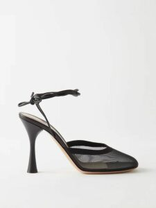 Isa Arfen - Off The Shoulder Ruched Cotton Top - Womens - Black