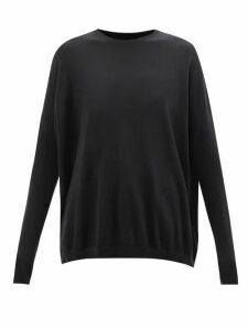 Proenza Schouler - V Neck Ribbed Knit Cardigan - Womens - Black