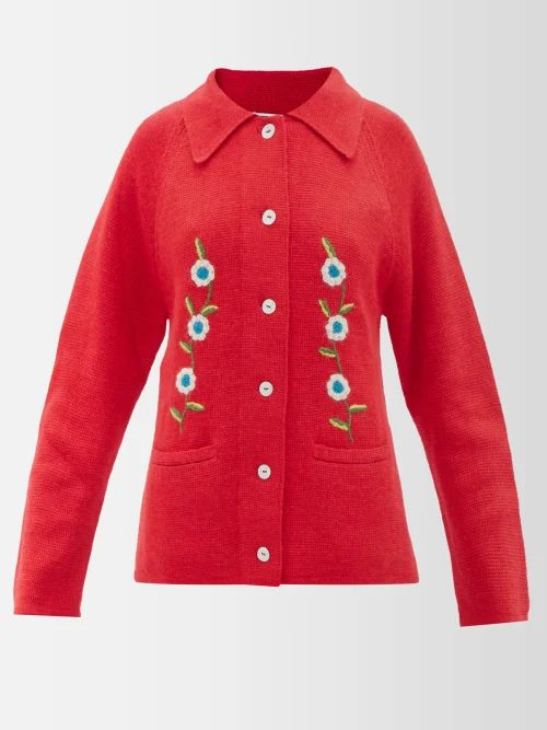 Apiece Apart - Tamarind Cotton Blend Asymmetric Wrap Skirt - Womens - White Stripe