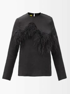 Roksanda - Zoya Gathered Silk Satin Dress - Womens - Pink