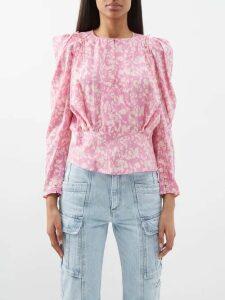 Altuzarra - Eureka Floral Print Dress - Womens - Pink Print