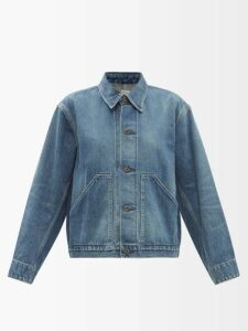 Balenciaga - Layered Cotton Shirtdress - Womens - Burgundy Multi