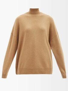 Bottega Veneta - Shaggy Oversized Coat - Womens - Mid Green