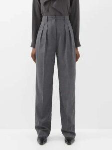 Dodo Bar Or - Bead Embroidered Velvet Midi Dress - Womens - Black