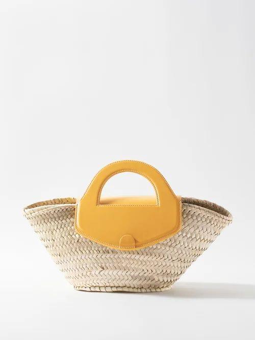 Emilio De La Morena - Golde Floral Jacquard Strapless Mini Dress - Womens - Green