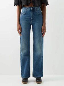 Prada - Strapless Houndstooth Wool Blend Dress - Womens - Grey Multi