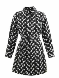 Maison Margiela - Peak Lapel Double Breasted Wool Coat - Womens - Navy